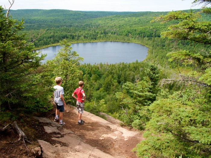 4. On the Oberg Mountain Loop views like this amazing one are abundant.