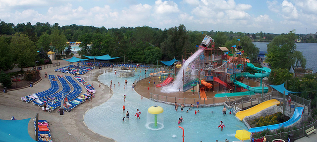 2. Have a wild time Wildwater Kingdom in Allentown.