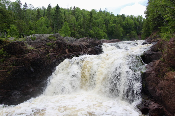 2. Judge C. R. Magney State Park is probably the least popular on the North Shore, but it's absolutely gorgeous and Brule River is unbelievable.
