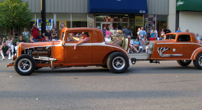 4) See all the tricked out hot rods at the Woodward Dream Cruise