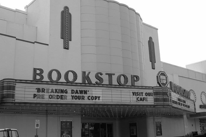 5) Only the best bookstore in the world, Bookstop, before Barnes & Noble bought the company in 1989.