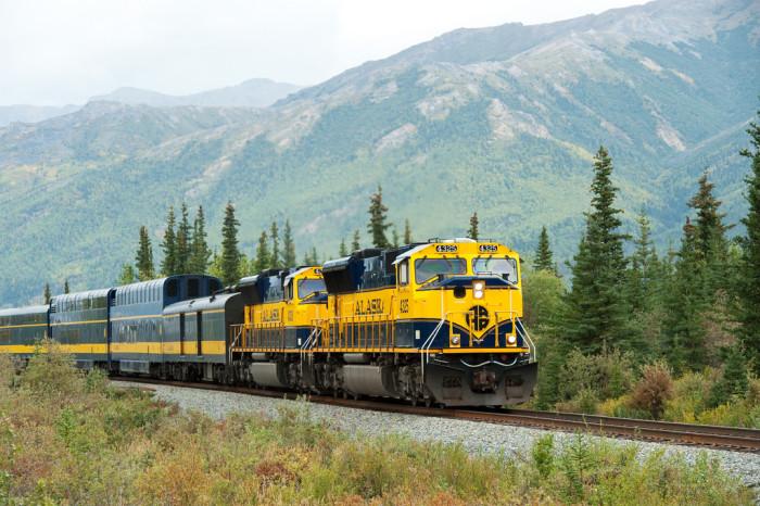 1) Alaska Railroad