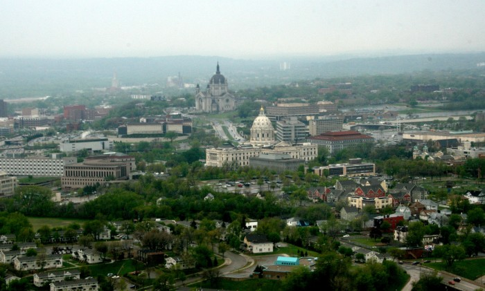 2. St. Paul from above is a man-made masterpiece.