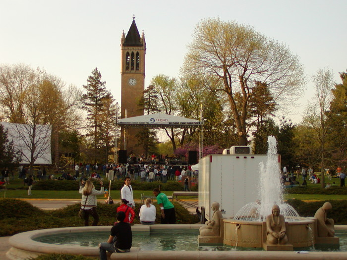 4. VEISHEA was the best, and we thoroughly miss it...