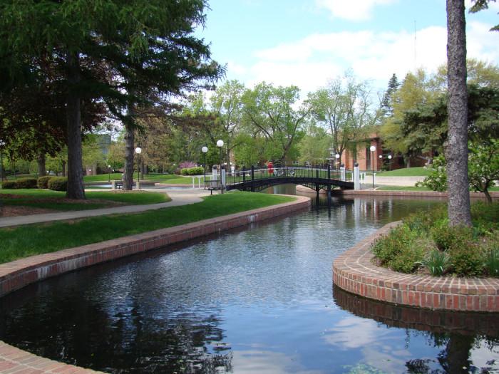 4. Central College Pond, Pella