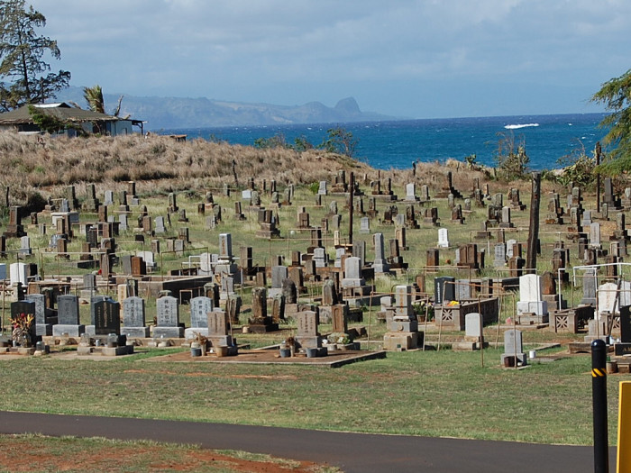 5) Mantokuji Soto Zen Mission of Paia Cemetery