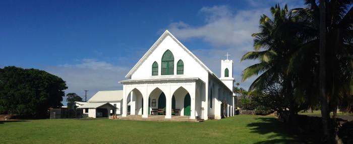 5) St. Francis Church, Molokai