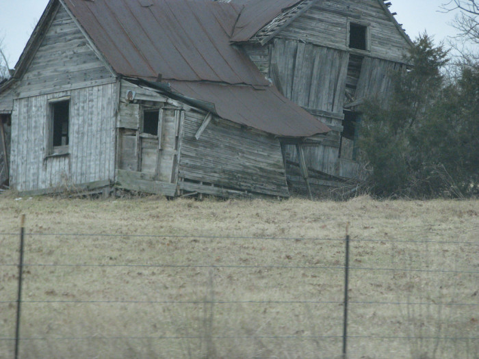 5. Rusted tin roof?  I hope this isn't the Love Shack.