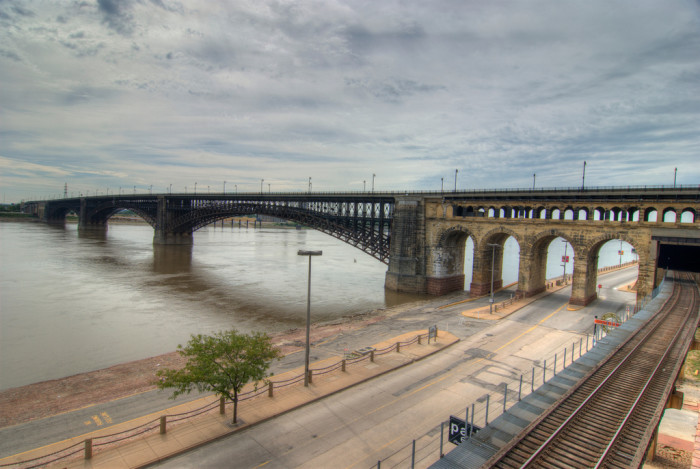 5. Ead's Bridge, St. Louis