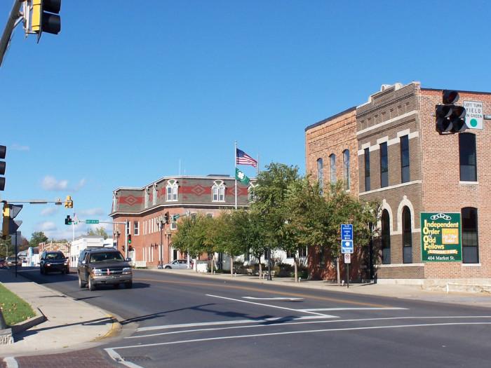 5. Fulton, Population 12,760