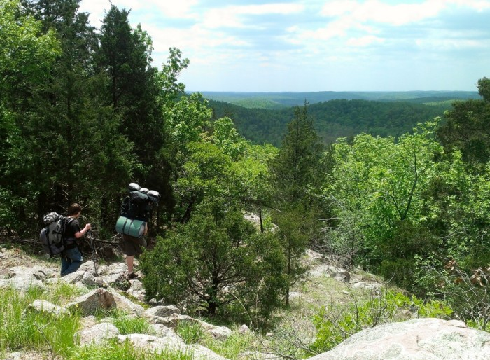5. The Taum Sauk section of the Ozark Trail