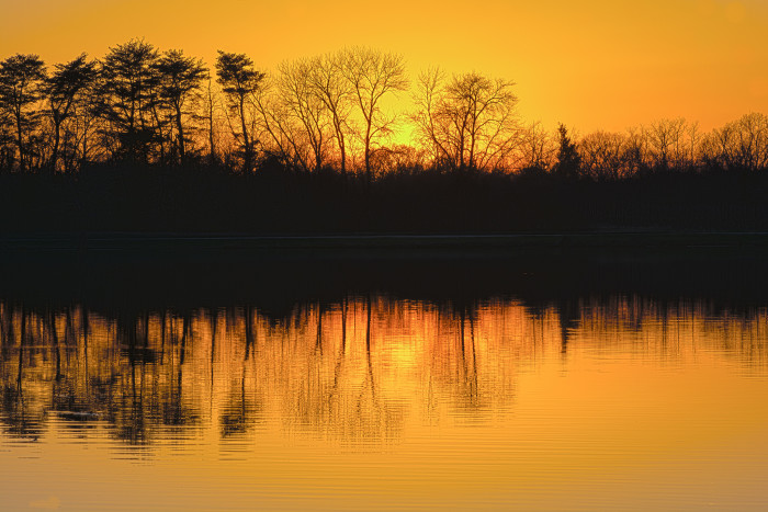 5. Somewhere in Missouri...I love the orange and yellow tones, and the beautiful reflection.