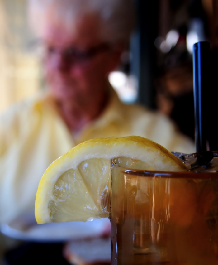 7. Don't forget the perfect beverage: Iced tea.