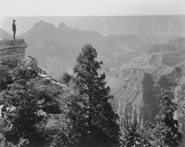 10. Think how quiet this must have been before the waves of tourists began flocking to the Canyon. (c. 1920)