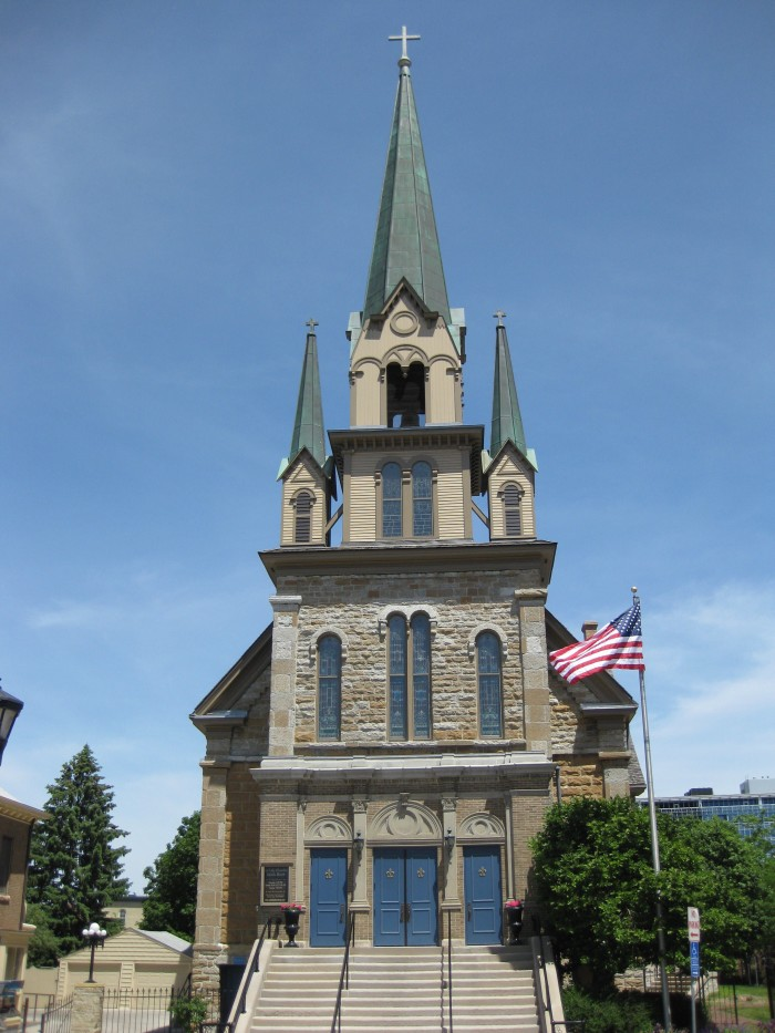 11. Our Lady of Lourdes Catholic Church is another Minneapolis beauty.