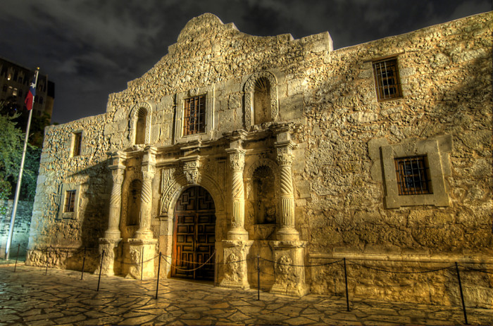 10) The Alamo, one of the most important and historical landmarks in our state.