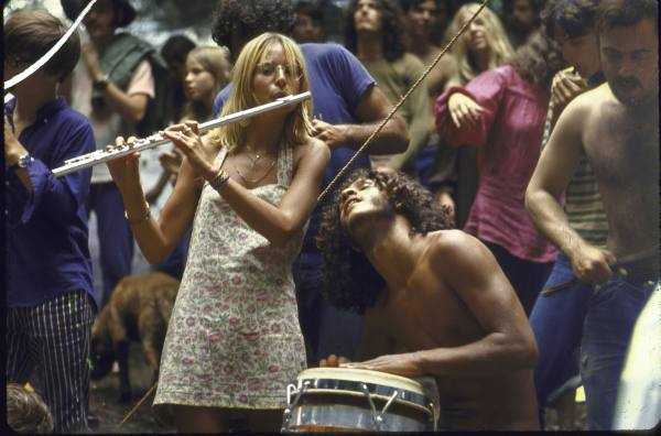 3.) The majority of the population is made up of hippies...