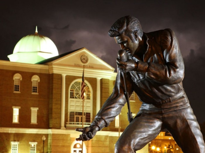 5. While in Tupelo, get a photo with the King while checking out the famous bronze statues of him as well as several other Elvis-related sites.