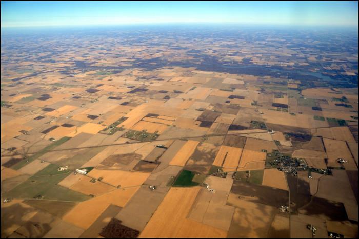 13) Farmland near Radnor