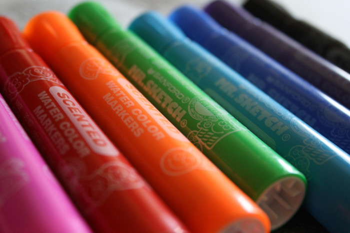 16. Mr. Sketch scented markers. They may have had fruity smells, but they kind of all smelled the same.