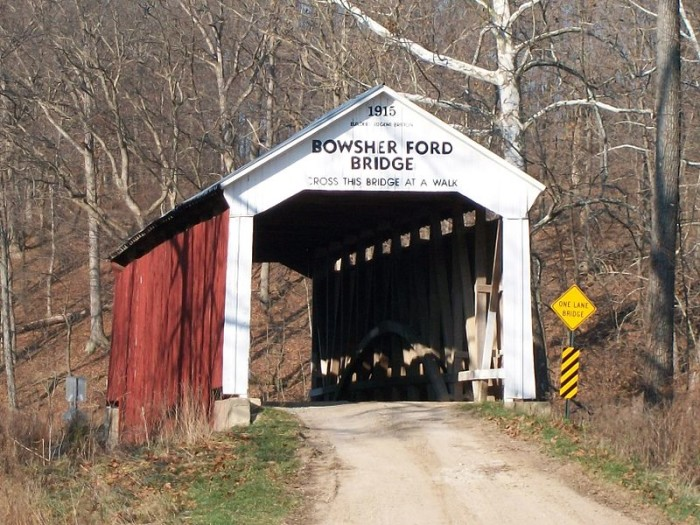 5. Bowsher Ford Covered Bridge