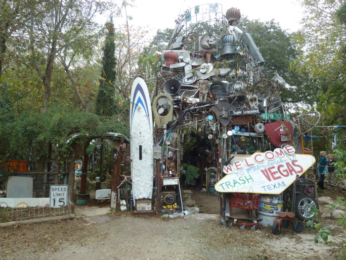 9) Cathedral of Junk (Austin)