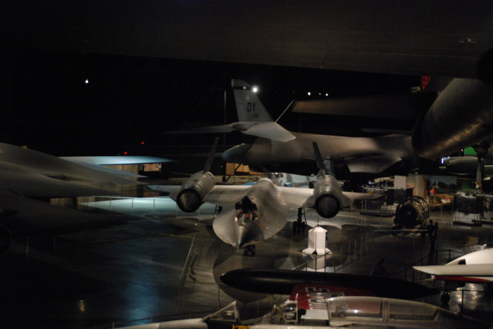 1) The United States Air Force Museum (Dayton)
