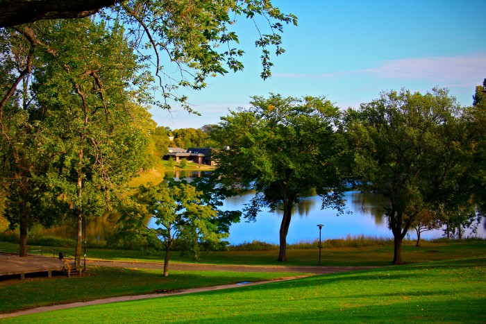 7. Any of Minnesota's wonderful parks will do though, especially when you're lakeside.