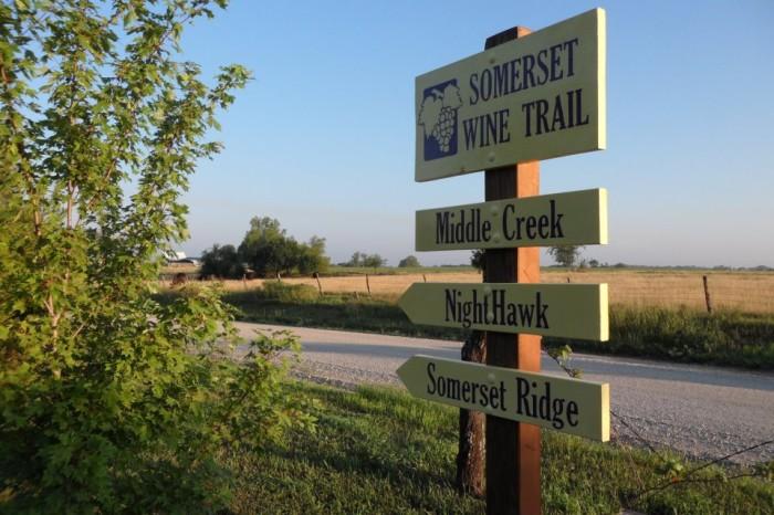 10.) Middle Creek Winery (Louisburg)