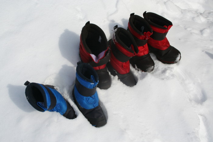 9. A pair of ugly yet very functional winter boots. Not everything about living in snow is glamorous.