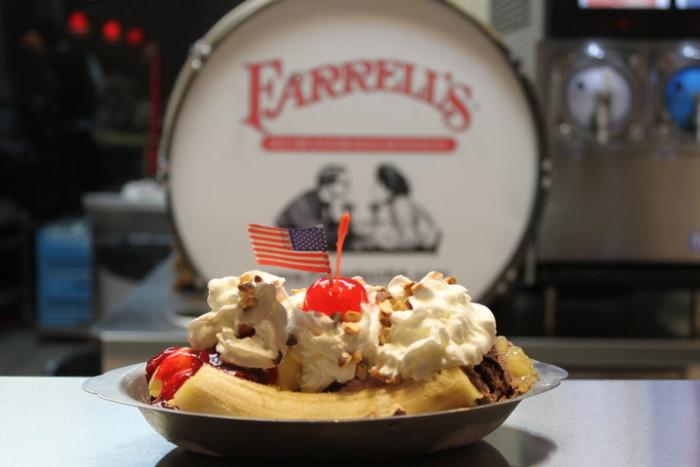 5) Farrell's Ice Cream Parlor