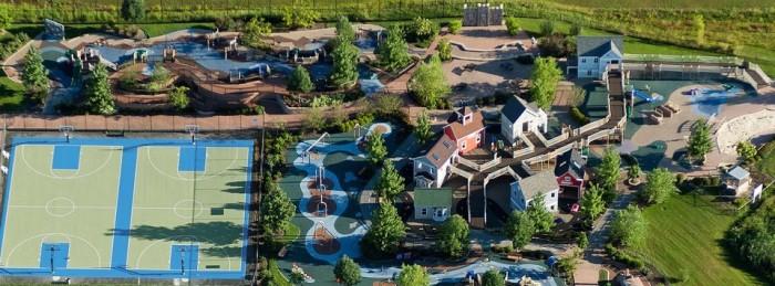 1) Preston's H.O.P.E Playground Park (Beachwood)