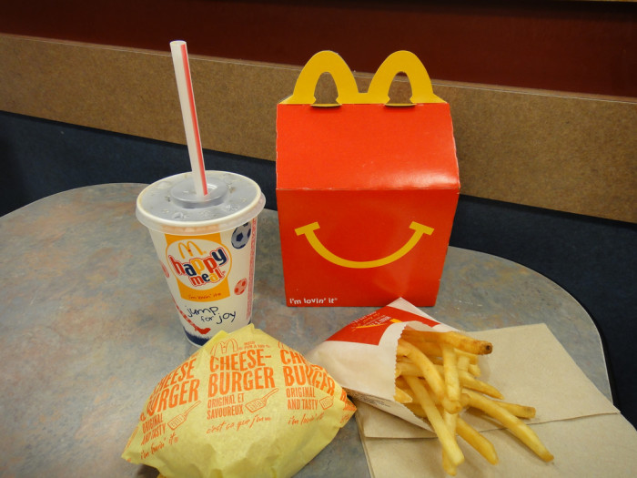 1. A trip to McDonalds was the GREATEST thing EVER!!!