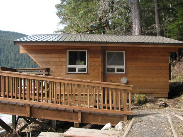 3) Windfall Lake Cabin
