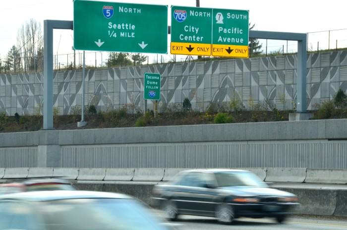 7. Drivers on I-5.