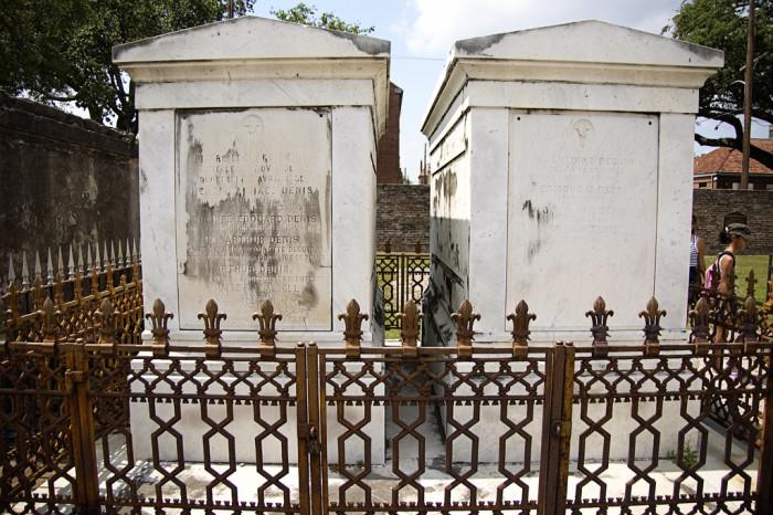 10) St. Louis Cemetery No. 1, New Orleans, LA