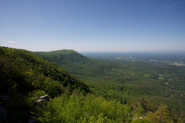 1) Fort Mountain - 	181 Fort Mountain State Park Rd, Chatsworth, GA 30705