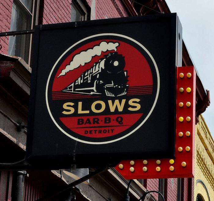 8) Slows Bar B Q, Detroit