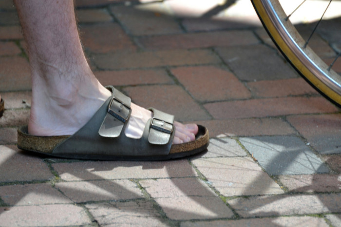 9.) Birkenstocks may as well be the official state shoe