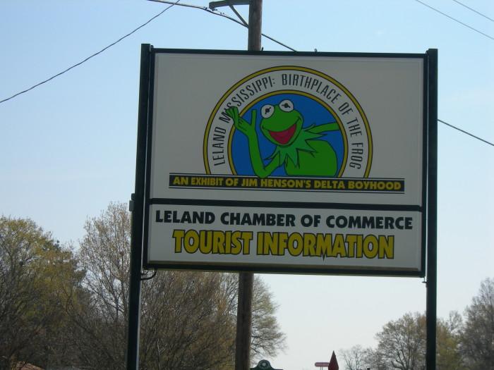 5. Birthplace of Kermit the Frog Exhibit, Leland