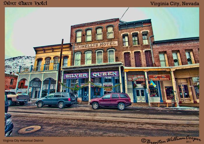 Silver Queen Hotel Virginia City Nv