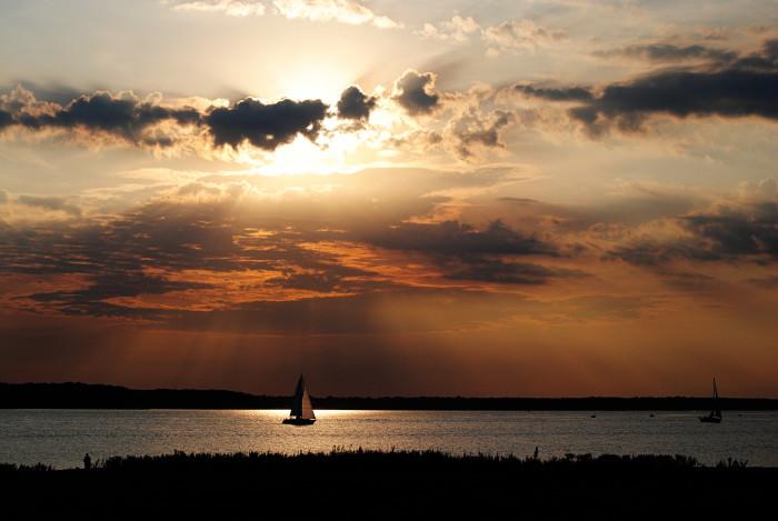 4. Saylorville Lake, near Des Moines