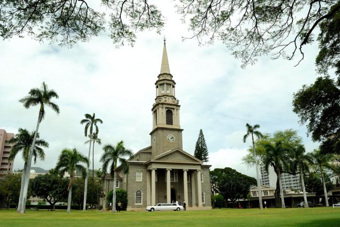 6) Central Union Church, Oahu