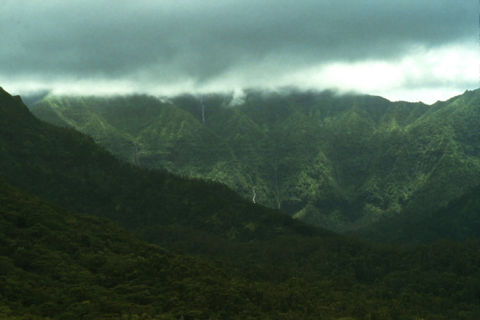 6) Kauai's Mt. Waialeale is the rainiest place on earth – boasting an average of 476 inches of rainfall per year.