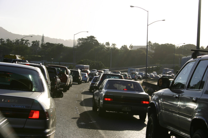 6) They complain about traffic, a lot. Surprisingly, Honolulu has the second worst traffic in the country, just behind L.A.