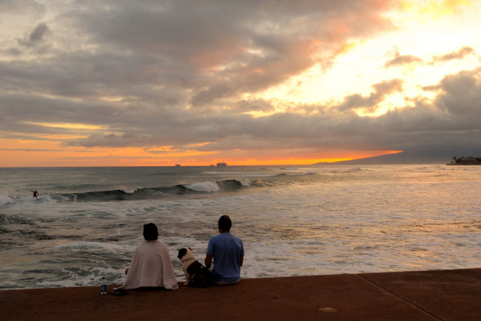 6) Grab a picnic basket and head to the west side of your island to take in a sunset with that special someone.