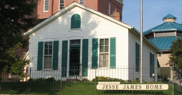 6. The Jesse James Home, St. Joseph