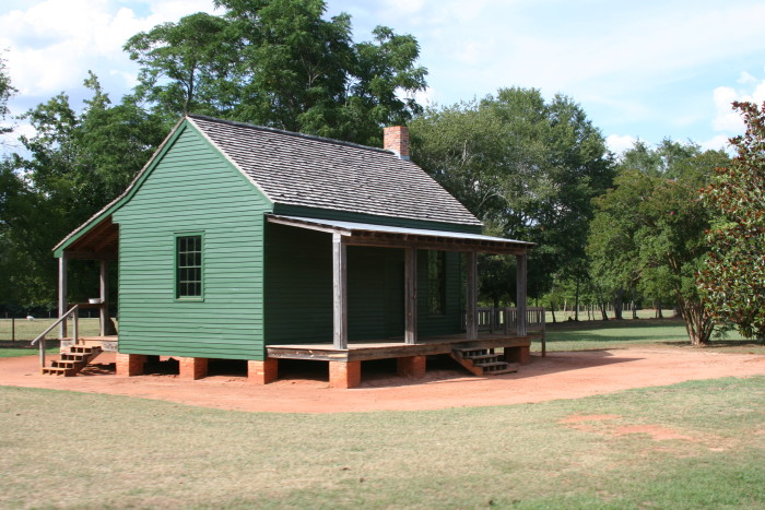 10) Quaint Green Farmhouse in Archery, GA