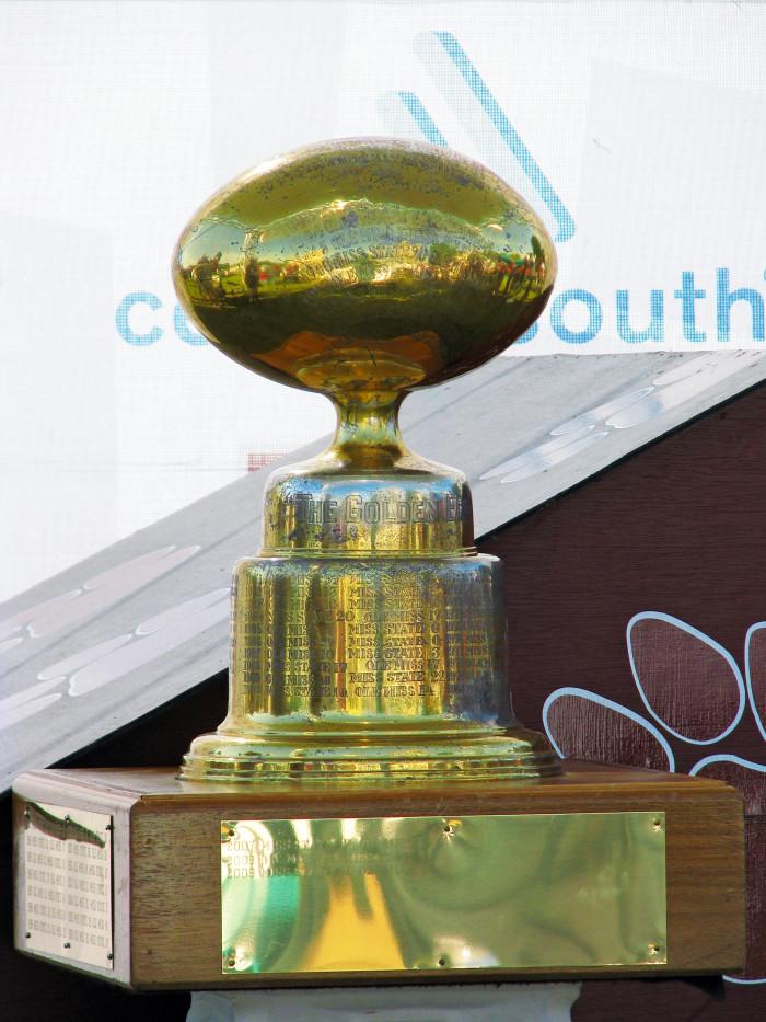 6. The Battle for the Golden Egg (aka Egg Bowl)
