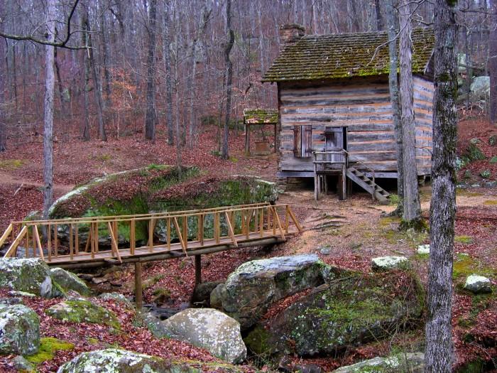 6. Tishomingo State Park, northeast of Tupelo